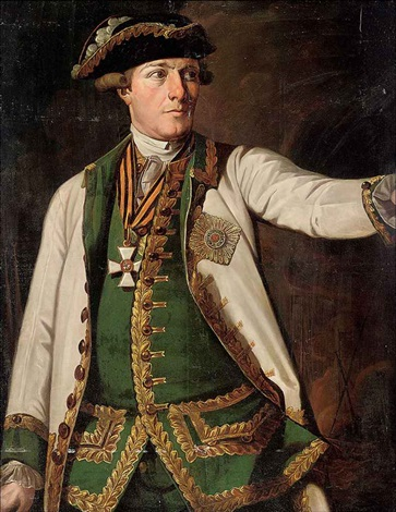portrait of rear admiral samuel greig, wearing the order of saint george, second class by ivan petrovich argunov