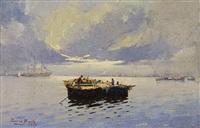 pesca em alto-mar by antonio garcia bento