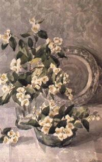 les bouquets et le plateau by taissia afonina