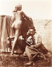 nu orientaliste by carl rudolph huber
