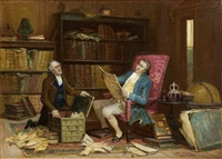 lawyers in an interior by george fox