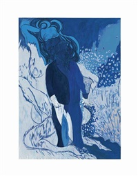 saint lucian blue by chris ofili
