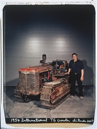 1954 international t6 crawler by chris burden