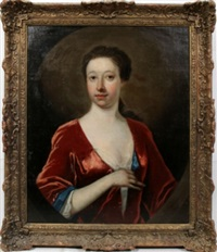 portrait of a lady by anonymous-british
