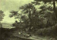 brigands d,troussant des voyageurs by angeluccio