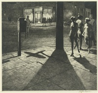 corner shadows by martin lewis