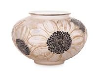 dahlia vase by rené lalique