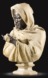bust of othello, the moor of venice by pietro calvi