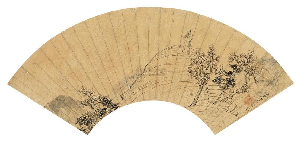 丘岩观木 landscape by zhang feng