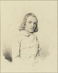 portrait of a young man by louis socrate fouquet
