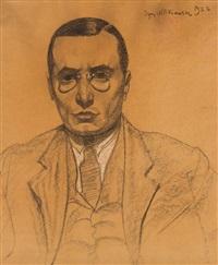 portret jerzego kordowskiego by stanislaw ignacy witkiewicz