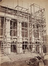 vue de la façade principale, opéra, paris by louis emile durandelle