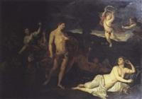 bacchus et ariane by nicolas colombel