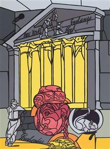 artwork by valerio adami