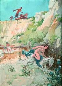 nimfy i satyry by wlodzimierz tetmayer