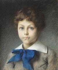 funda albastră by gustave claude etienne courtois