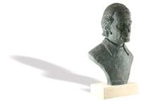 portrait of conductor sergiu celibidache by celine emilian