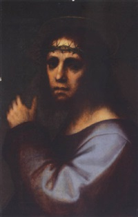 christ carrying the cross by andrea piccinelli