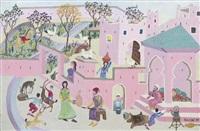 devant la kasbah by mohamed naciri