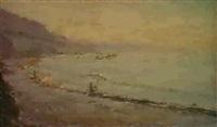 la plage de khosta by nicolay andretsov