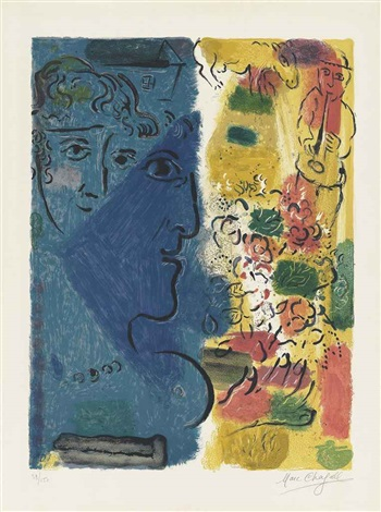 affiche dexposition by marc chagall