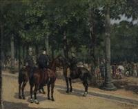 cavaliers by léon joseph voirin