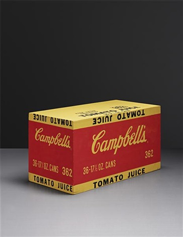 tomato juice box by andy warhol