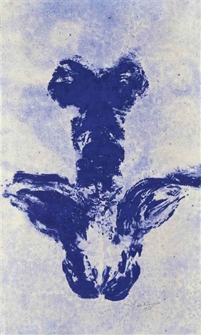 anthropométrie ant 49 by yves klein