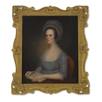 mrs. james wilson by charles willson peale