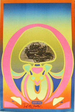 keystone cops by peter max