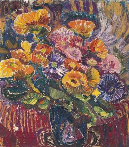 bouquet de fleurs by maria mela muter