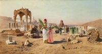 les tombeaux des califes au caire by franz xavier kosler