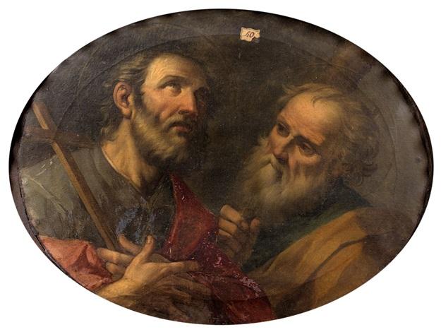 *Donne-nous notre Pain de ce jour (Vie) : Parole de DIEU *, *L'Évangile et le Livre du Ciel* - Page 9 Italian-school-bolognese-(18)-deux-ap%C3%B4tres-:-saint-philippe-et-saint-jacques-le-mineur