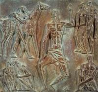 el maestro (+ 2 others; triptych) by alfredo bigatti
