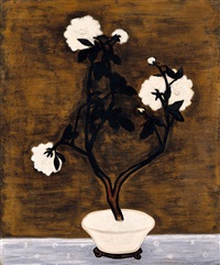 pot de pivoines (potted peonies) by sanyu