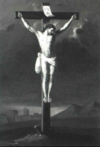 the crucifixion by josef ignaz huber