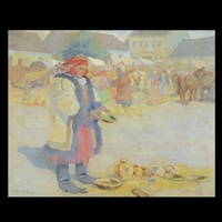 winter market by ferry reinold
