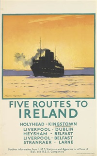 five routes to ireland by norman wilkinson