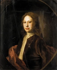 portrait of archibald, 3rd son of charles, 9th lord elphinstone by william aikman