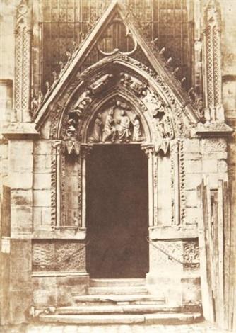 La Porte Rouge Façade Septentrionale De La Cathédrale Notre Dame De