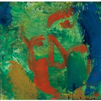 nebula (self portrait) by hans hofmann