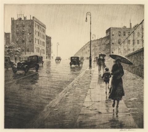 rainy day queens by martin lewis