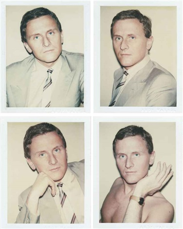 thomas ammann (4 works) by andy warhol