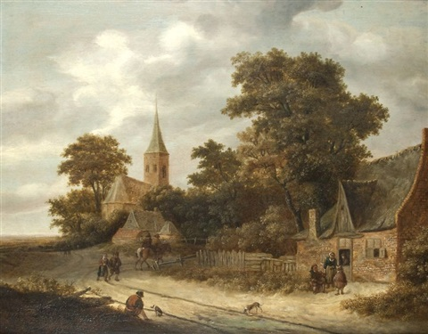 haarlemer landschaft by michel van vries