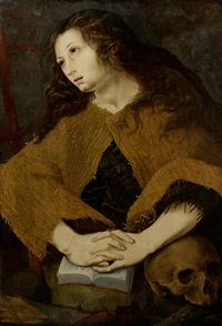 the penitent magdalen by pedro campana