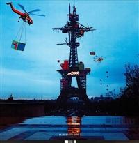 plug-in-city -2000, eiffel-1 by alain bublex