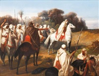 abd-el-kader montre l'ennemi by sansac (comte de)