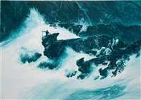 coastline measure by mark tansey