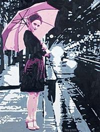 a rainy night by mustafa karyagdi