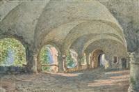 a heidelbergi kolostor részlete by franz alt
